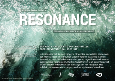 E-Flyer Resonance 6 juni in Roest